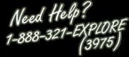 Need Help? contact Exploration Journeys